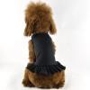 China Blank Dog T-Dress - black for sale