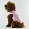 China Blank Plain Dog Tee Tank Top Pink for sale