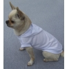 China Blank Plain Dog T-shirt Hoodie White for sale