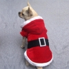 China Christmas Dog Coat-red for sale