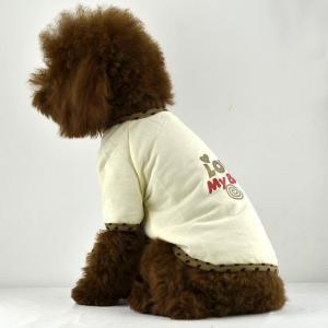 China Fashion Love my Baby print dog t-shirt on sale