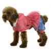 China Bear printing winter pet clothes with Yarn fabrics Decorative - Orange for sale