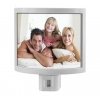 China 2-Pack :TreasureIt Customizable Photo-Frame Night-Light! for sale