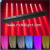 China 8X10W 4 in 1 RGBW led beam moving head washer for sale