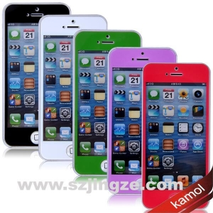 China White color tempered glass screen protector on sale