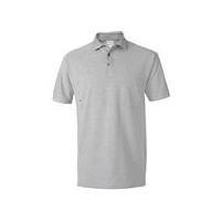 New pique 100 cotton pocket polo shirts
