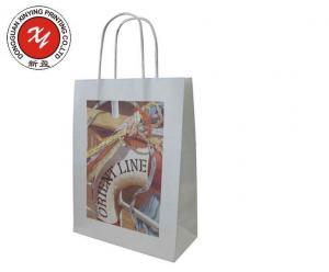 China 2014 custom shopping paper bag , gift paper bag , kraft & brown paper bag on sale