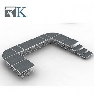 China Light aluminum portable stage system manufacturer on sale