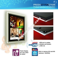 China 22 LCD Display + Light Box for poster on sale