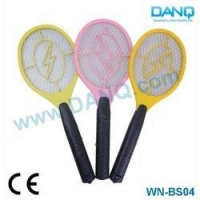 Small Three Layers 2*AA Batteries Electric Mosquito Killer Racket With CE