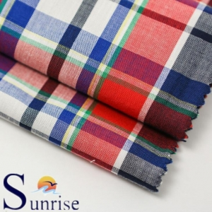 China yarn dyed checks fabrics CVC Yarn Dyed Check(SRSCT 029) on sale