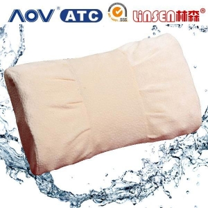 China china online shopping Linsen memory foam sleeping tube pillow on sale