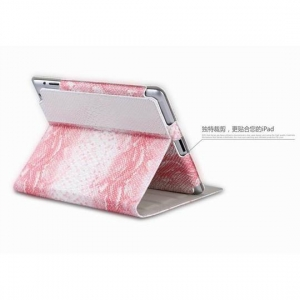 China Classical PU case for iPad air; leather case for iPad5 on sale