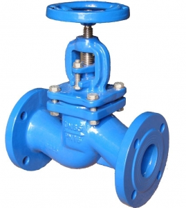 China DIN CAST IRON GLOBE VALVE PN16 on sale