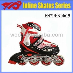 China 4 PU wheel roller flashing skate with light on sale