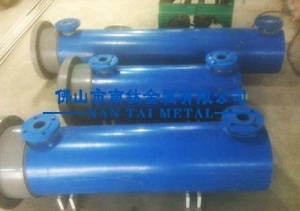 China swimming pool titanium shell tube heat exchanger on sale