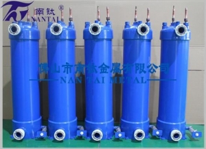 China Milk Chiller Used Refrigerant to Water Heat Exchanger on sale