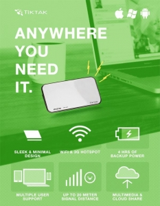 China TT-4G01 4G POWER BANK&ROUTER on sale