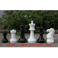 China King Tall 16 Inch Giant Garden Outdoor Chess Piece on sale