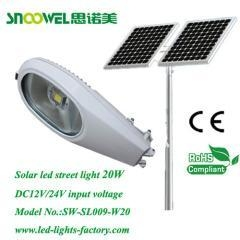 China 2013 20w Retrofit Solar Powered Led Street Light fixtures on sale