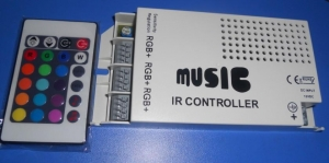 China 9 channels RGB IR music & audio controller;DC12V input on sale