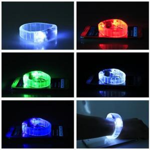 China flashing led bracelet for party on sale