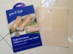 China PTFE Non-stick Toaster Bags on sale