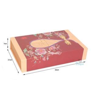 China Flat pack cake cardboard storage boxes on sale