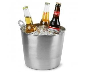 China Stainless steel ice bucket with a bottle opener Beer bucket on sale