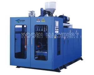 China KEB60/75 FULLY AUTOMATIC EXTRUSION BLOW MOULDING MACHINE (SINGLE STATION) on sale