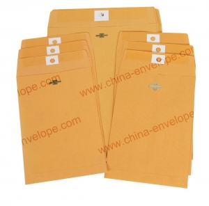 China Kraft Clasp Envelope A on sale