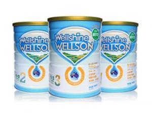 China Wellshine Wellson Infant Formula Milk Powder on sale