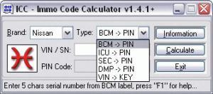 China Immobilizer programming ICC Login-Code Calculator on sale