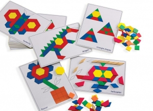 China Pattern Block Picture Cards on sale
