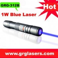 China 1000mw high power waterproof BLUE laser pointer on sale