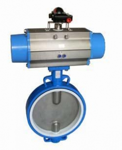 China 710T high performance liner with Teflon butterfly valve on sale