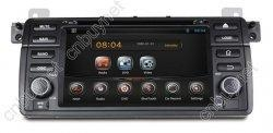 China Android 4.2.2 BMW E46 M3 Car Headunit Radio GPS DVD 3G WIFI on sale