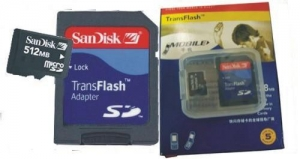 China Sandisk Micro SD card (TF card) on sale