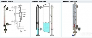 China Magnetic level gauge on sale