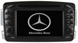 China Windows car DVD Mercedes Benz CLK-C208 W208 1996-2008 on sale