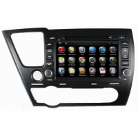 Android 4.2 car DVD Honda Civic Saloon 2014 car radio