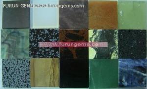 China Semi-precoius Stone / loose stone semi-precous stone slab tiles ItemFR11179 on sale