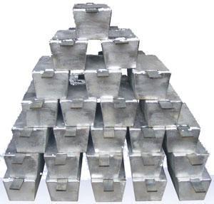 China Zinc alloy sacrificial anode on sale