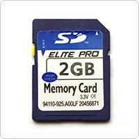 China 2GB Class 4 SD Memory Card for Cell Phones / Tablets PC on sale
