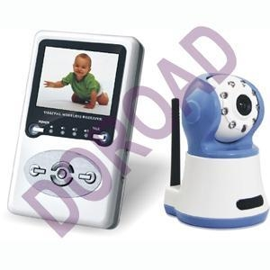 China 2.4Ghz Audio and Video Digital Wireless Baby Monitor Model: DR-WBM823386 on sale