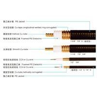 China Radio Frequency Corrugated Copper tube Coaxial Cables(50ohms) on sale