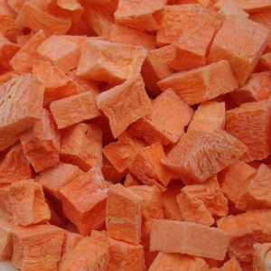 China Freeze Dried Diced Carrot on sale