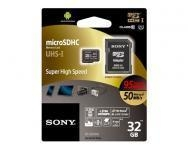 China Sony 32GB microSDHC Class 10 UHS-I Memory Card (SR-32UXA/T1) on sale