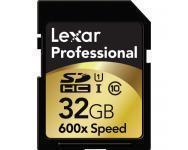 China Lexar 32GB SDHC Professional 600x Class 10 UHS-I Memory Card on sale