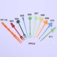 China Plastic Cocktail Picks & Forks on sale